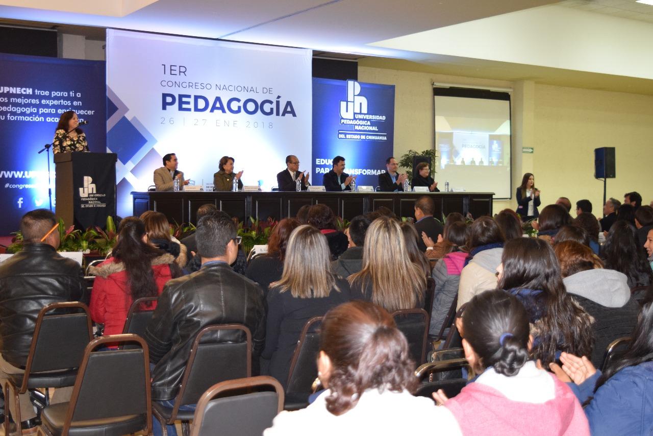 Arranca el 1er Congreso Nacional de Pedagogía de la UPNECH