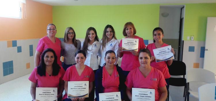 Concluyen alumnas de UPNECH sus prácticas profesionales en Casa Cuna del DIF Estatal