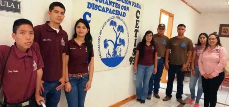 ALUMNOS DE UPNECH NUEVO CASAS GRANDES VISITAN EL CENTRO DE ATENCIÓN PARA ESTUDIANTES CON DISCAPACIDAD