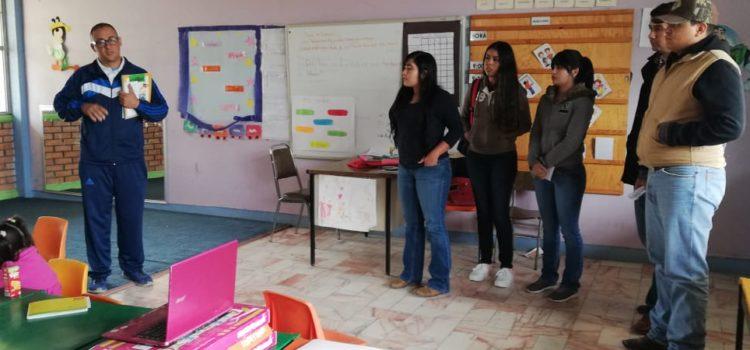 ALUMNOS DE UPNECH CAMPUS NCG VISITAN EL CAM #8